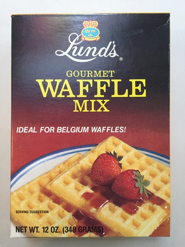Lund's Swedish Waffle Mix (Sell-By END OF MARCH 2017)