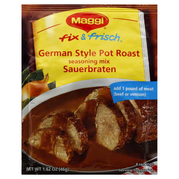Maggi Sauerbraten/Pot Roast Mix (Sell-by JUNE 2017) (ONLY 2 LEFT