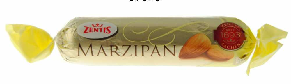 Marzipan Dark Chocolate covered (Zentis) 100 gram bar