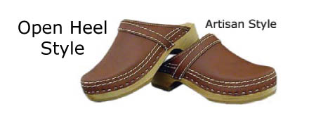 x Simson Dutch Made Leather Clogs (artisan) x
